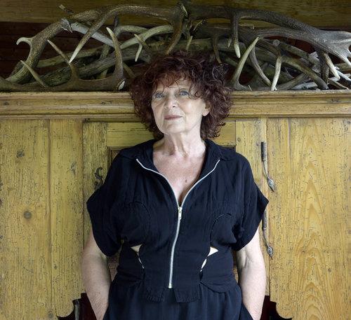 Portrait de Claudie Hunzinger par Françoise Saur © Françoise Saur